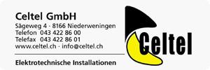 Celtel GmbH Elektrotechnische Installationen